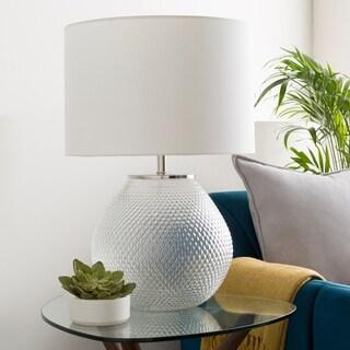 Permelia Hobnail Glass Table Lamp - N/A