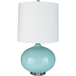 Splendid 26.75 in. Metallic Glass Table Lamp