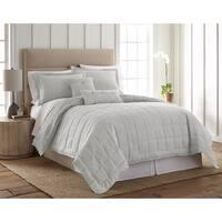 Your Lifestyle Light Blue Linen Bedding Set