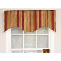 RLF Home Nigel Stripe Cornice Window Valance