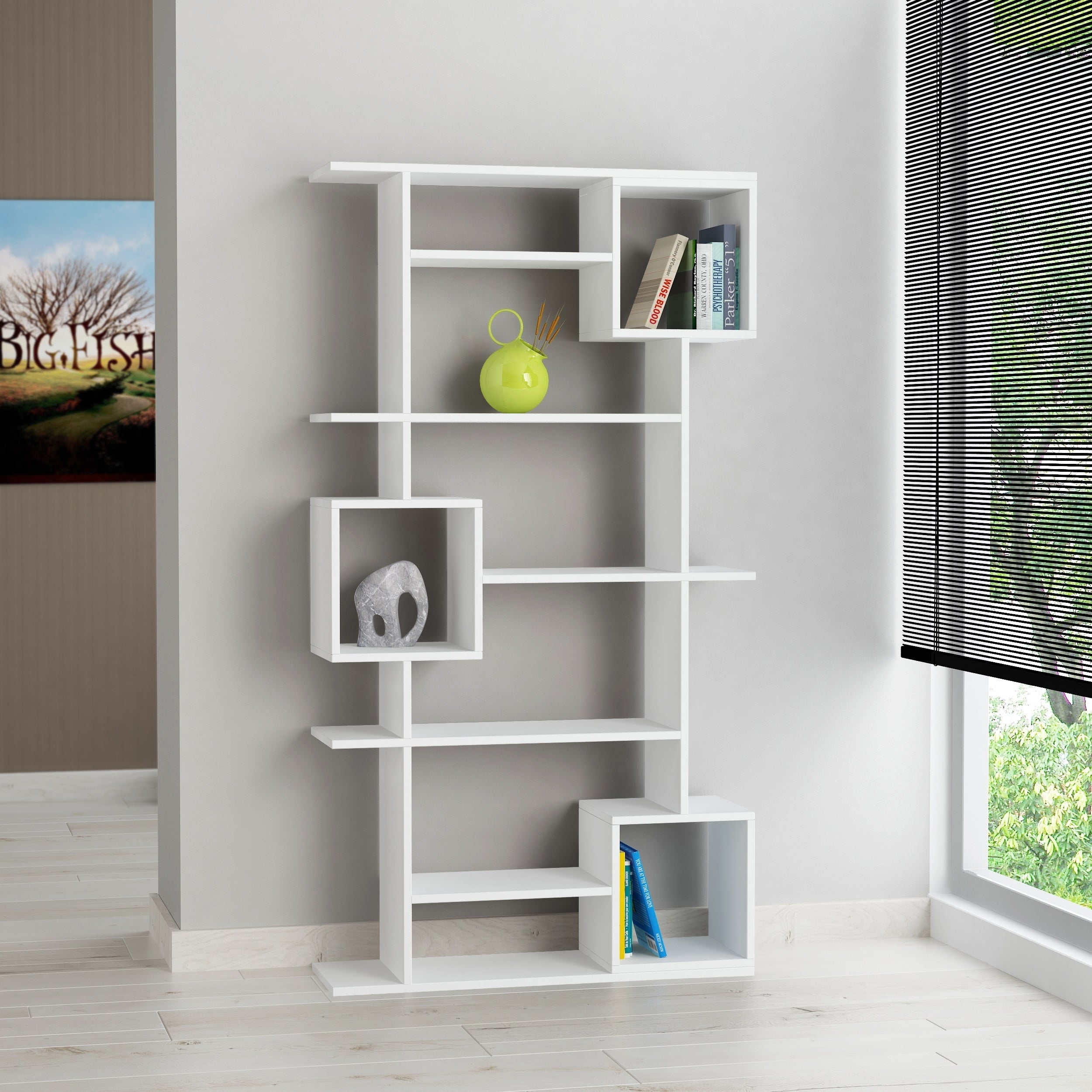 Shop Barrett Modern Bookcase Overstock 22997079