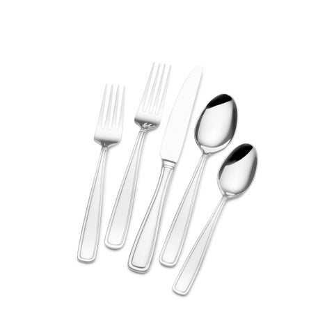 Pfaltzgraff Dunham Stainless Steel Set, Service for 8