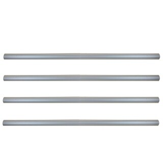 4'' x 16' Aluminum Tubes for In-Ground Pool Cover Reel System