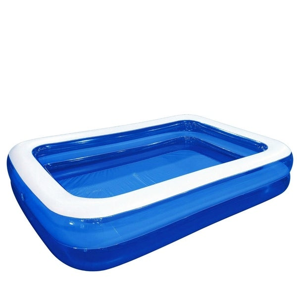 Shop 103 Quot Large Royal Blue And White Rectangular