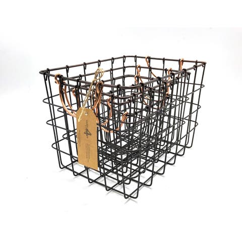 Handmade Metal Wire Nesting Basket, Set of 4