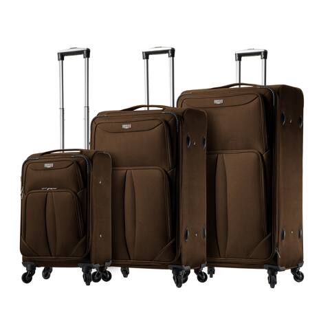 Mia Viaggi ITALY Sione 3-piece Softside Spinner Luggage Set