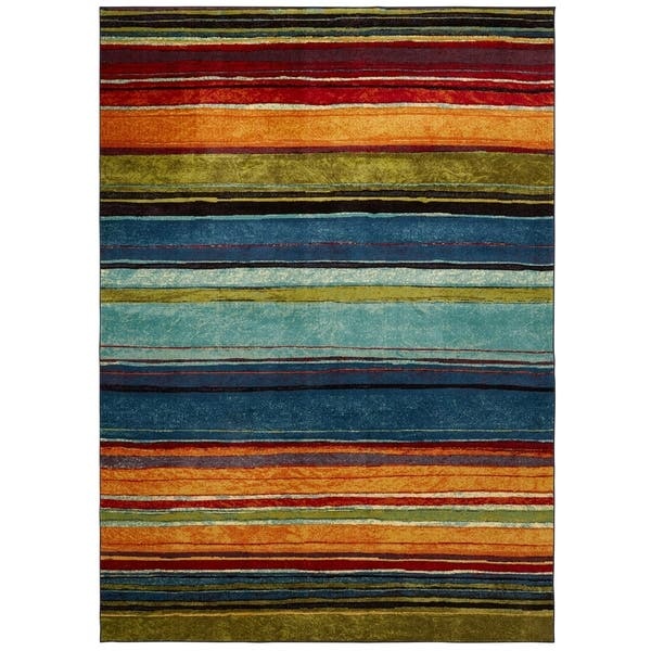 Mohawk New Wave Rainbow Area Rug