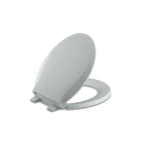 Kohler Cachet® Quiet-Close Round-Front Toilet Seat Cashmere (K-4639-K4)