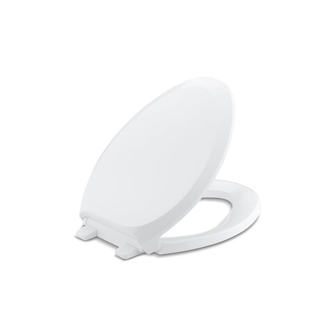 Kohler K-4713 French Curve(R) Quiet-Close(TM) with Grip-Tight elongated toilet seat
