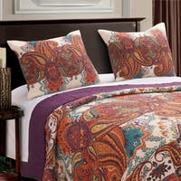 The Curated Nomad Horsdal Spice Pillow Sham Set (Set of 2)