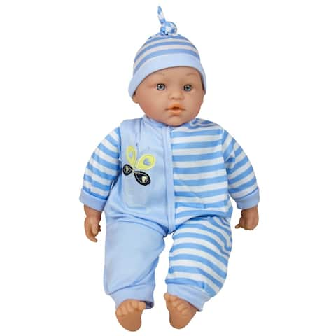 Lissi 15-inch Talking Baby Doll Blue