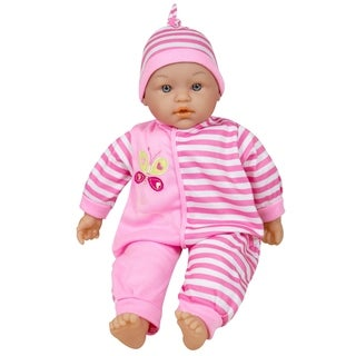 Lissi 15-inch Talking Baby Doll Pink