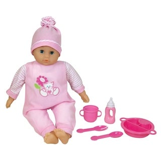 Lissi Talking Baby Doll with Feeding Accessories