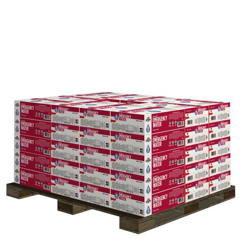 Augason Farms 50 Year Ultra Purified Water Half Pallet 1,200 Cans
