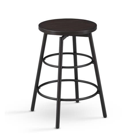 Brennon Backless Swivel Counter Stool by Greyson Living