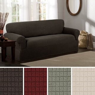 Maytex Reeves Stretch 1 Piece Sofa Slipcover / Furniture Cover