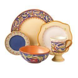 Pfaltzgraff Villa Del La  Luna 40-piece Dinnerware Set - Thumbnail 1
