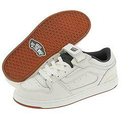 4f9131beaa3 Vans Warner White  Charcoal  White Athletic Shoes - Size 8 D