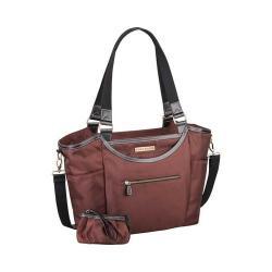 Women's Clark & Mayfield Bellevue Laptop Handbag 18.4in Bordeaux Brown