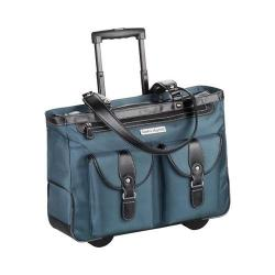 Women's Clark & Mayfield Marquam Rolling Laptop Tote 18.4in Deep Teal