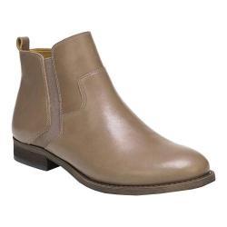 Women's Franco Sarto Hampton Ankle Bootie Dover Taupe Bally Leather