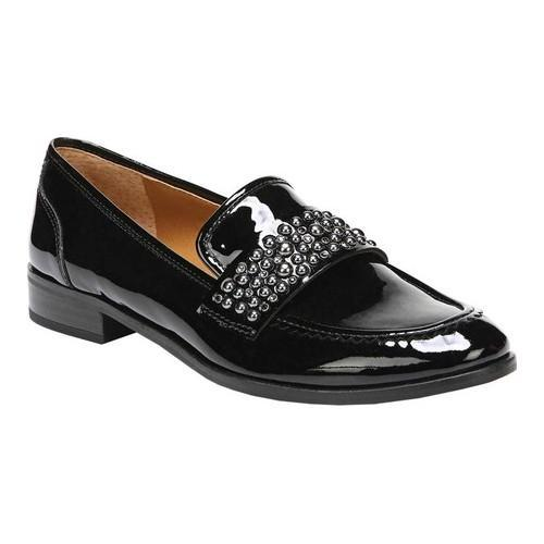 Women's Franco Sarto Johanna Loafer Black Leather