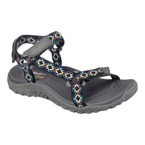 Women's Skechers Reggae Redemption Sandal Charcoal/Multi
