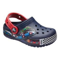 Children's Crocs Crocband Fun Lab Graphic Lights Clog Kids Navy