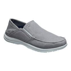 Men's Crocs Santa Cruz Convertible Slip On Light Grey/Slate Grey