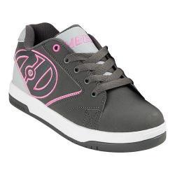 Children's Heelys Propel 2.0 Charcoal/Grey/Pink