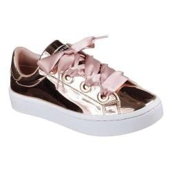 Women's Skechers Hi-Lites Liquid Bling Sneaker Rose Gold