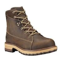 Women's Timberland PRO 6in Hightower Alloy Toe Work Boot Kaffe Full Grain Leather
