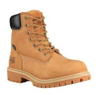 Women's Timberland PRO Direct Attach 6in Steel Toe Boot Wheat Nubuck