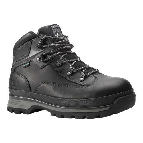 Shop Women s Timberland PRO Euro Hiker Alloy Toe Work Boot Black Full Grain  Leather - Free Shipping Today - Overstock.com - 19498271 5929bb945
