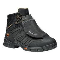 Men's Timberland PRO Excave 6in Steel Toe External Met Guard Boot Black Split Leather