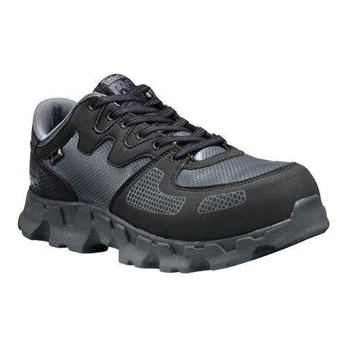 Women's Timberland PRO Powertrain Alloy Safety Toe ESD Black/Grey  Synthetic