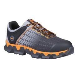 Men's Timberland PRO Powertrain Sport Alloy Safety Toe SD Plus Shoe Grey Ripstop Nylon/Orange