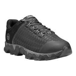 Women's Timberland PRO Powertrain Sport Alloy Toe EH Work Shoe Black Raptek Microfiber