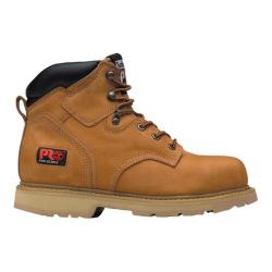 Men's Timberland PRO Pit Boss 6in Soft Toe Boot Wheat Nubuck
