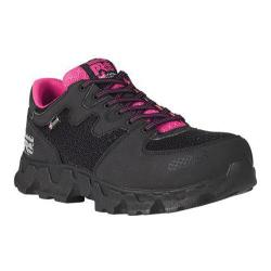 Women's Timberland PRO Powertrain Alloy Safety Toe ESD Black/Pink Microfiber