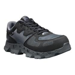 Timberland PRO Men/'s Powertrain Alloy Safety Toe ESD Black//Grey Microfiber