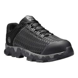 Men's Timberland PRO Powertrain Sport Alloy Safety Toe SD Plus Shoe Black Ripstop Nylon