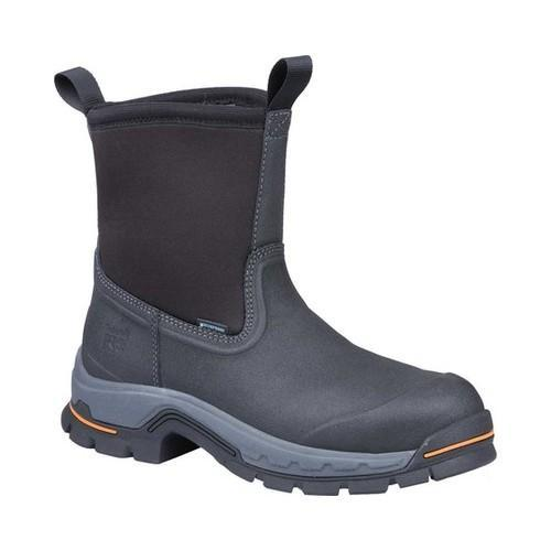 Timberland PRO Stockdale Alloy Toe Wellington Work Boot Black  Synthetic/Leather
