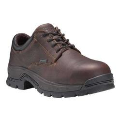 Timberland PRO Stockdale Alloy Toe Work Shoe Brown Full Grain Leather