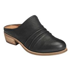 Women's Aerosoles Out West Mule Black Burnished Nubuck/Leather
