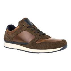 Men's Crevo Harrough Sneaker Chestnut Leather/Suede