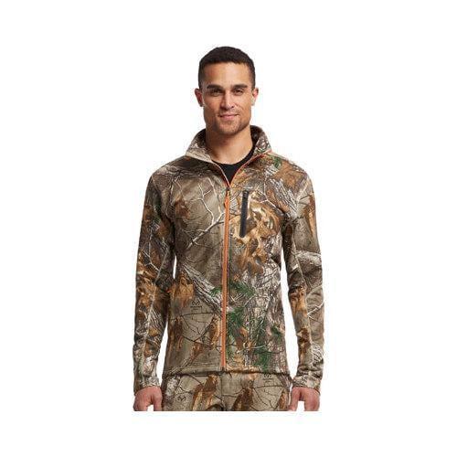 ceb4984b05e92 Shop Men's Icebreaker Ika Long Sleeve Zip Jacket Real Tree Real Tree Xtra/Desert  - Free Shipping Today - Overstock - 19517797