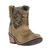 Women's Laredo Sapphrye Cowgirl Boot 51028 Tan Leather