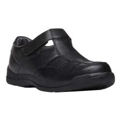Men's Propet Bayport Fisherman Sandal Black Leather
