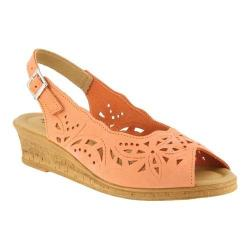 Women's Spring Step Orella Peach Nubuck (More options available)